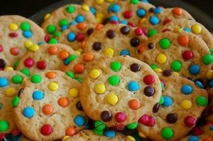 Υπέροχα παιδικά μπισκότα με smarties!