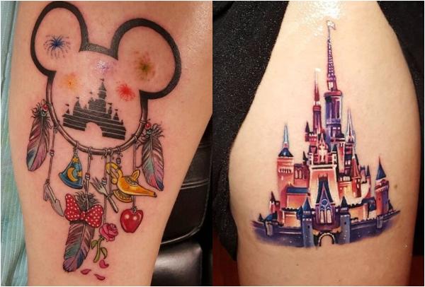 40 Tattoo εμπνευσμένα από Disney χαρακτήρες!