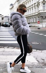 gouna, skinny pants, sneakers