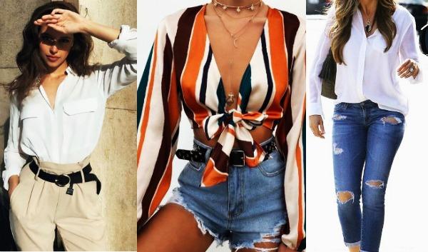 30 Σύνολα για να εντυπωσιάσεις φορώντας γυναικεία πουκάμισα!