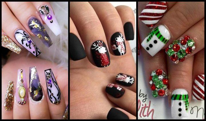 30 Εντυπωσιακά σχέδια για Χριστουγεννιάτικα νύχια!