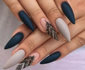 matte mitero manicure