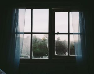 open your curtains