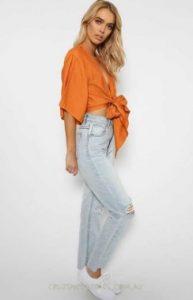 orange clothes e-diva.gr