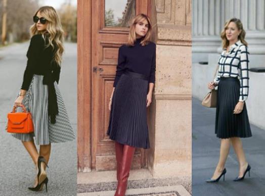 18 Όμορφα outfits με midi φούστες που θα λατρέψεις!