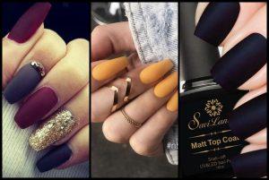 30 Λαμπερές προτάσεις για ματ νύχια!
