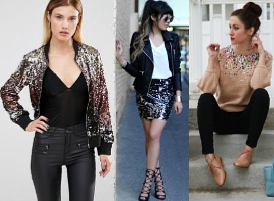 3ad80e15a54 25 Τέλεια outfits με ρούχα με παγιέτες! | ediva.gr