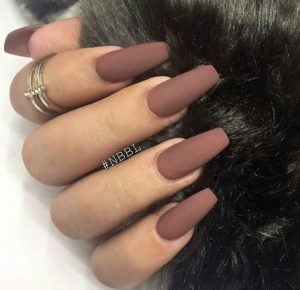 sapio milo matte manicure