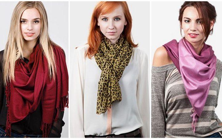11 Υπέροχοι τρόποι για να φορέσεις το μαντήλι ή το κασκόλ σου!