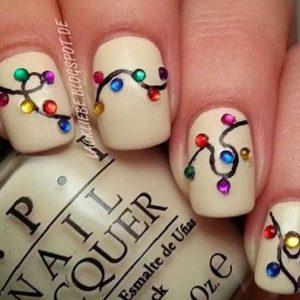 xmas fwtakia manicure