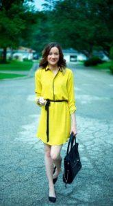 yellow dress e-diva.gr
