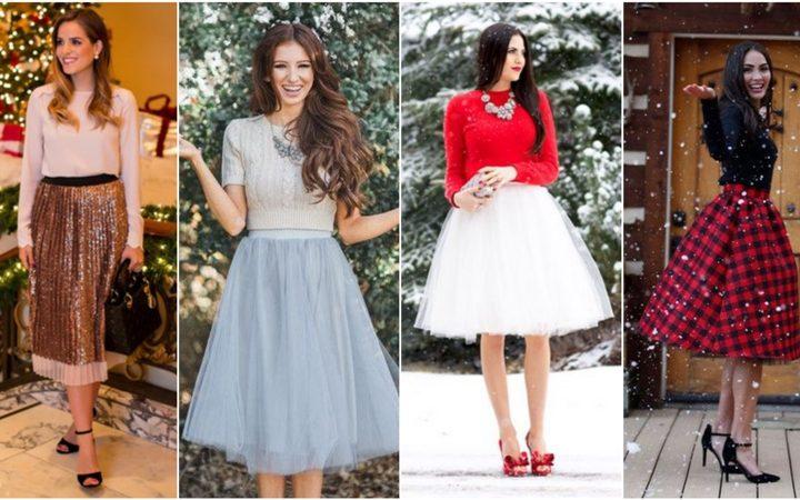 43 Ιδέες για γιορτινό ντύσιμο με midi φούστα που πρέπει να δεις!