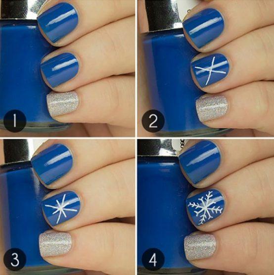 Christmas Nail Art Tutorial Gingerbread Galore: Δες ποια σχέδια για τα νύχια είναι φέτος στην μόδα!
