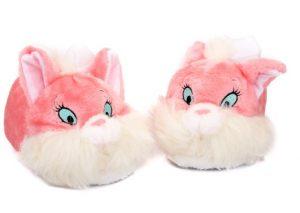 roz pantofles sxedio gata