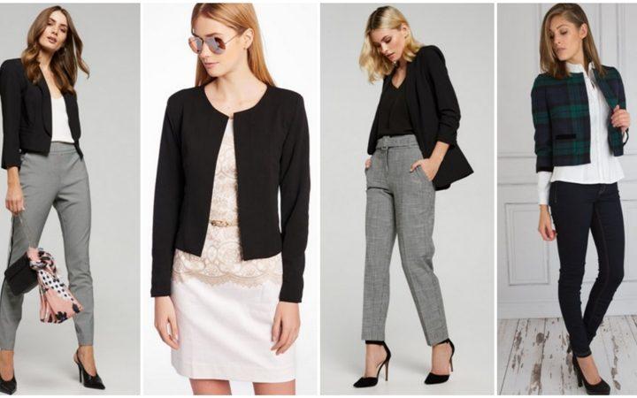 23 Υπέροχες επιλογές για κομψό γυναικείο ντύσιμο με κοντό σακάκι!