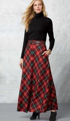 Η μάξι σκωτσέζικη φούστα μπορεί να δώσει είτε μία πιο κομψή αίσθηση ή μία  πιο casual και rustic αναλόγως την επιλογή των ρούχων. Συνδυάζεται άψογα με  το ... 7823848f665