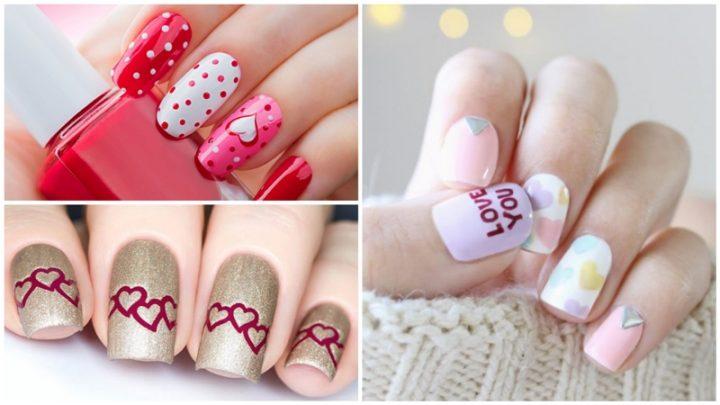 38 Πανέμορφες επιλογές στα νύχια για του Αγίου Βαλεντίνου!