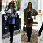 outfit over knee boots
