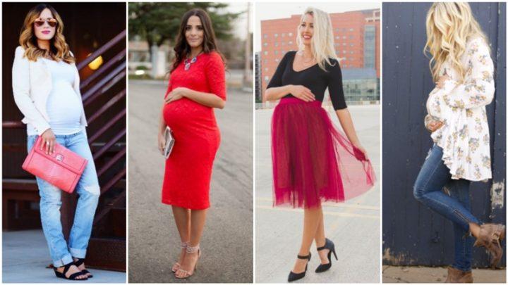 22 Outfit για βραδινές εμφανίσεις όταν είσαι έγκυος!