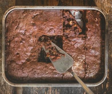 Συνταγή για νηστίσιμο brownies χωρίς αυγό και βούτυρο!
