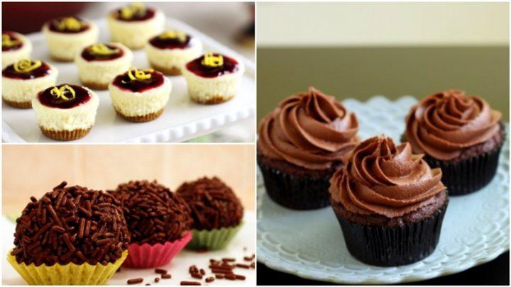 3 Εύκολες συνταγές για ατομικά γλυκά σε χαρτάκια!
