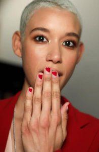 new york fashion week nails