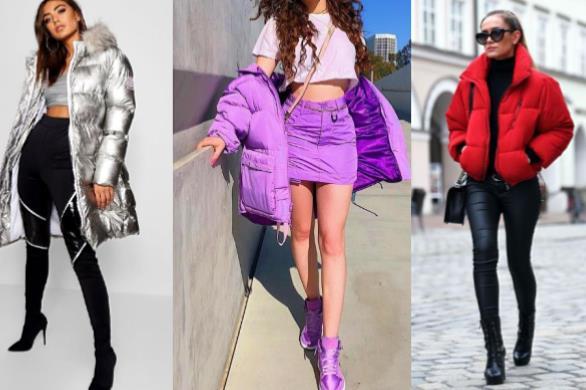 Τα puffer jackets είναι ξανά στην μόδα!