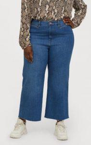plus size zip culotte