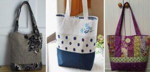 Πώς να φτιάξεις τσάντα από ύφασμα βήμα-βήμα!