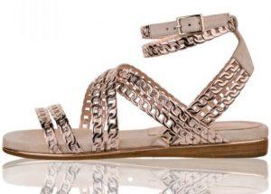 roz xruso flat sandalia
