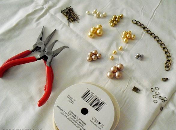 Πως να φτιάξεις το δικό σου DIY κολιέ από πέρλες!
