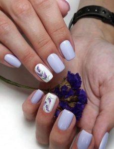 lefka lavander nails