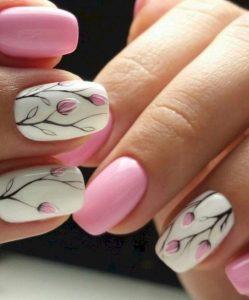manicure sxedio amigdalies