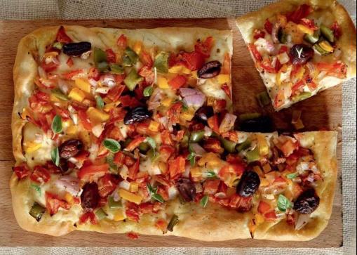 Συνταγή για νηστίσιμη πίτσα!