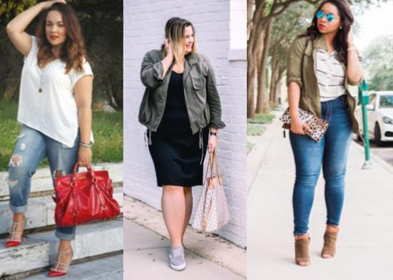 15 Τέλειες ιδέες για plus size casual ανοιξιάτικο ντύσιμο!
