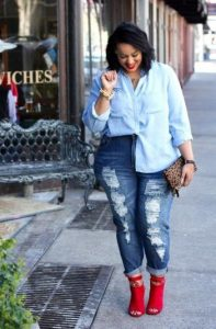 plus size jean me ateleies