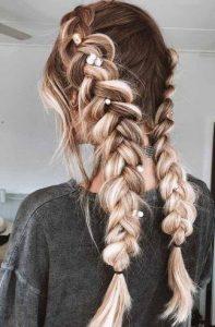 trendy braids