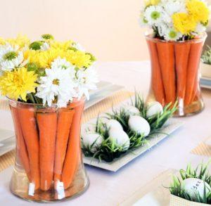 ανθοδέσμη από καρότα