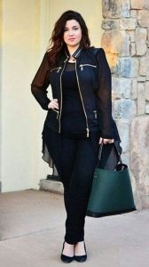 casual outfit plus size