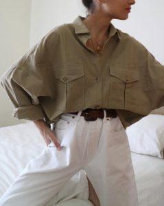φαρδύ πουκάμισο, φαρδύ παντελόνι