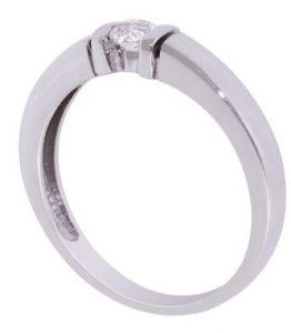 ματ λευκό δαχτυλίδι