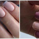 μίνιμαλ γυναικεία νύχια
