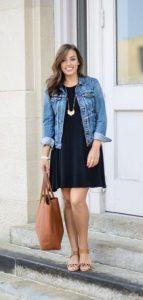 μπλε σκούρο φόρεμα