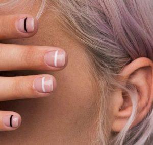 νύχια με λεπτομέρεια