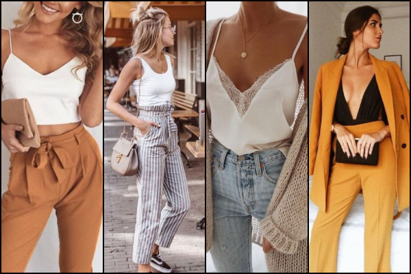 30 Outfits με ψηλόμεσα παντελόνια για να πάρεις ιδέες!