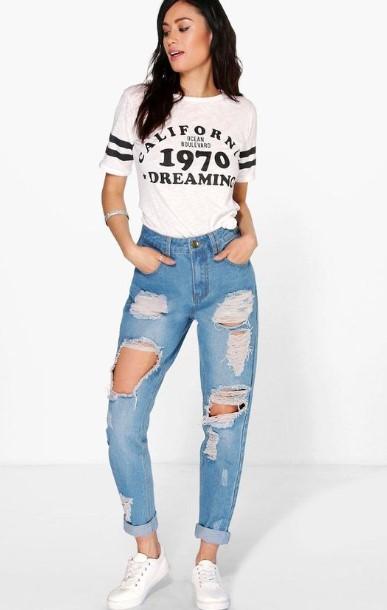 a1ddc47255b2 Ξεκινώ από τα ψηλόμεσα jean μιας και αυτά είναι που οι περισσότερες  γυναίκες επιλέγουμε να φοράμε στην καθημερινότητα μας. Οι επιλογές είναι  πολλές.