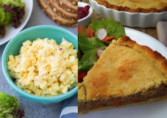 Συνταγές με φαγητά που περίσσεψαν το Πάσχα!
