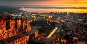 thessaloniki kastra