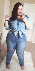 total jean outfit