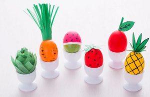 βαμμένα πασχαλινά αυγά